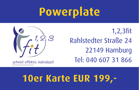Sommer-Angebot - Powerplate 10er Kart